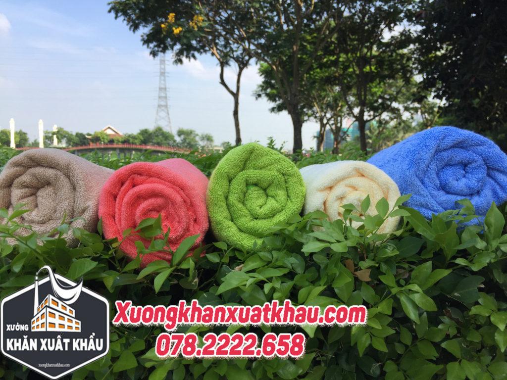khăn bông xuất khẩu